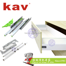662THI Soft Close Concealed Wardrobe Sliding System Furniture Hardware