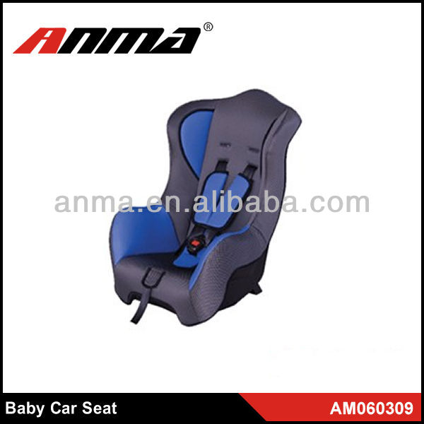 China Beautiful Blue reclining baby shield safety car seat