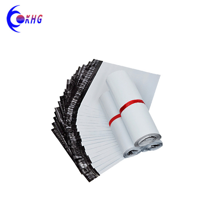Custom logo poly mailer printed plastic carrier bags colored mail bag