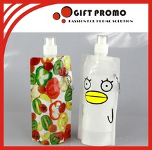 Custom Colour Plastic Foldable Drinking Water Bottle