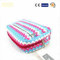Ladies fashionable portable cosmetic bags washing bags cosmetic case