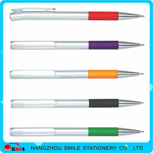 Logo customized promotional plastic ball pen advertising roller ball pen