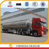 New Model 30000Liters-60000Liters three axles aluminium fuel tanker semi trailer
