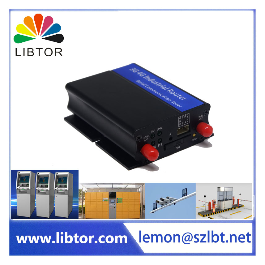 best price Wireless 3G transfer into serial port GPRS WIFI M2M industrial cellular router