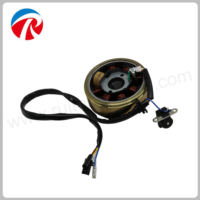 GY6 150cc Motorcycle Magneto Assy With Magneto Coil And Magneto Stator