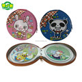 High Quality Popular Tin CD Case With Zipper