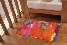 Full color custom door mat, kids rubber floor mat SGS