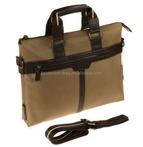 Cheap business briefcase , leather briefcase parts