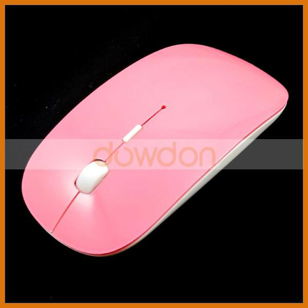 2.4ghz 10m Working Distance ABS Material Colorful 1000dpi Best Seller Wireless Mouse For Laptop