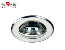 IRON alloy Material Chrome Color GU10 LED bulb downlight
