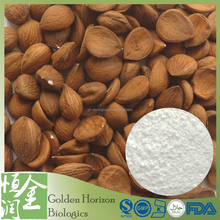Factory Supply High Purity 98% Natrual Bitter Apricot Seed P.E. Laetrile Powder Amygdalin