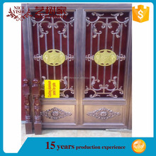 Latest garden gate designs, entry metal horse doors, Decorative aluminum main gate design