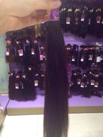 Alli Express 100 Virgin Brazilian Straight Hair