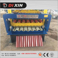 DIXIN corrugated sheet roll forming machine corrugated roof sheet making machine