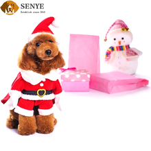 Pet Clothes Solid Christmas Suits Wool Dog Costume