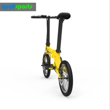 lightweight electric mini cross bike 16 20 inch 250w motor folded electric bicycles