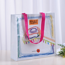 Non woven wine carrier bag with customized color