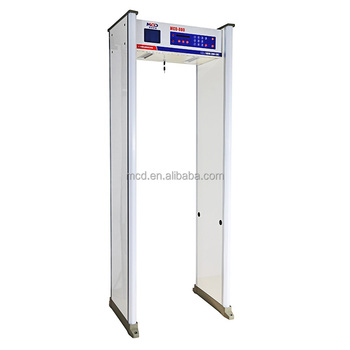 real-time Hypersensitized Door Frame Metal Detector or Walkthrough metal detector