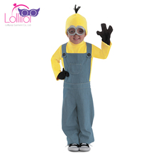 Hallowen costumes kids minions boys cosplay costume professional cartoon character costumes