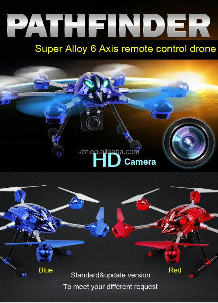 2.4Ghz RC camera drone shenzhen headless mode professional drone with HD camera