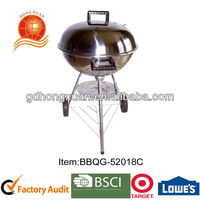 "18"" stainless steel bbq apple grill/charcoal grill/outdoor camping item BBQG-52018C"