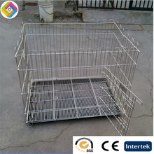 Stainless steel pet fence ran cage dog bar shed display cage