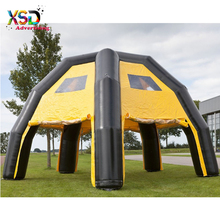 Commercial 6 legs inflatable arch tent / blow up event inflatable camp tent for sale