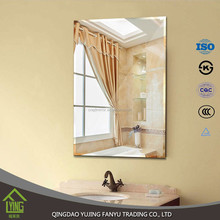 home decor 1.5mm-6mm thickness Aluminum Mirror For Hotel and restaurant