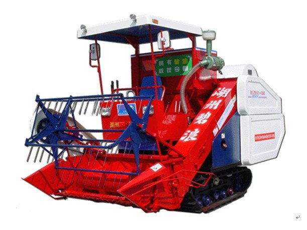 4LZ-1.2 Rice & Wheat & Soybean Combine Harvester