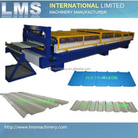 Automatic Trapezoidal Roofing tile making machine