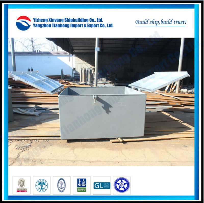 Ship steel hatch cover for Vietnam Customer