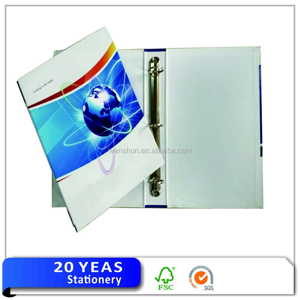 Custom definition file and folder/clamp file folder