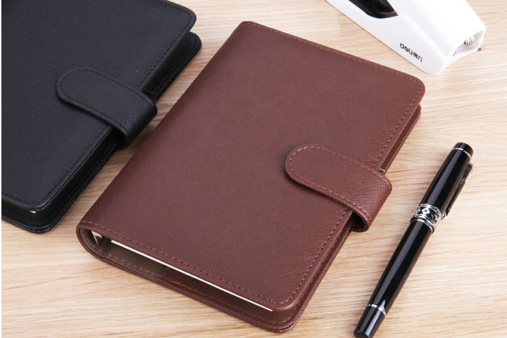 Business small writing shorthand square lined notebook