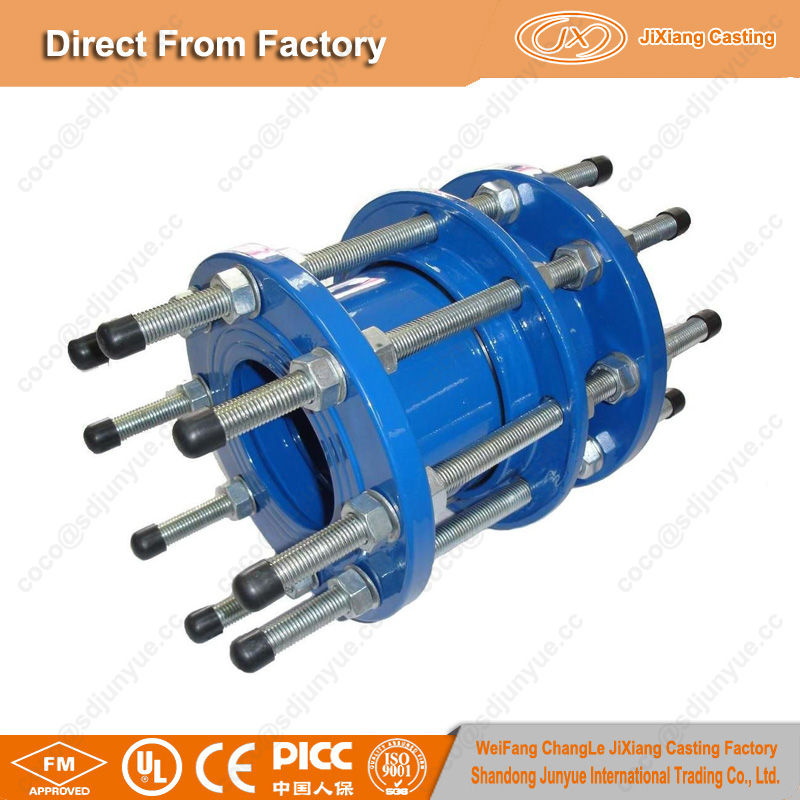 China foundry pipe fitting dismantling joint price with OEM service