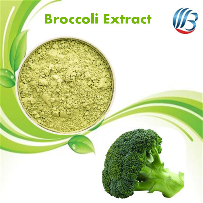 LanBing supply high quality broccoli extract sulforaphane broccoli extract broccoli seed extract