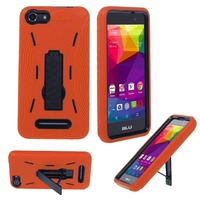 Wholesale Alibaba supplier heavy duty kickstand combo cover mobile phone case for BLU Advance 5.0