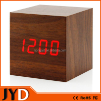 JYD- DAC03 New Digital Wooden LED Alarm Clock, Wooden Digital Table Clocks For Promotion Gift