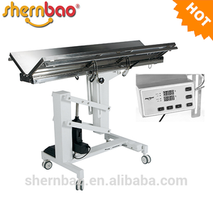 Shernbao FT-828/828H V-top Veterinary Operation Table With Heating System