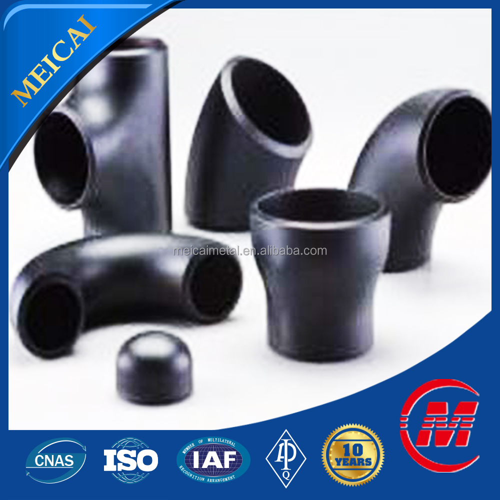 pipe fitting bend 45 degree/flanged elbow 90 degree/Steel Pipe Fitting Dimensions