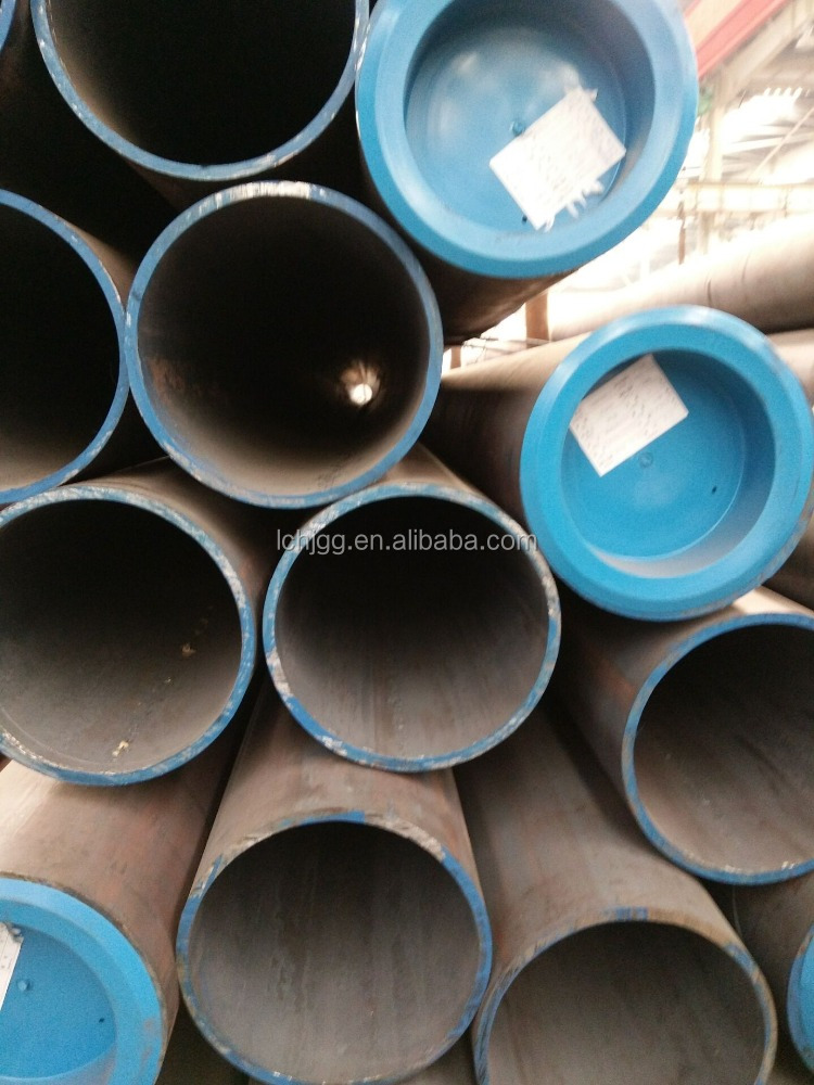 Huijun steel pipe supply OD 16-219mm HR seamless steel tube factory