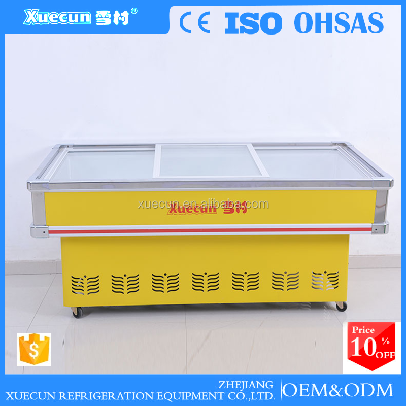CE Certification and Display Cooler Type super general AHT deep freezer