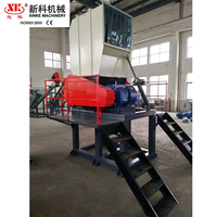 PE PP PVC hard plastic film bottle crusher washing recycle machine plastic crushing machine