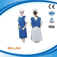 Cheap Medical Radiation Protective Clothing/Anti radiation clothing Radiation proof suit China MSLLA04-R