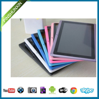 classic Q88 Low price OEM logo china supplier cheapest dual core tablet pc 7 inch