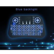factory manufacture [Genuine] Rii mini i8+ 2.4G Wireless English Backlight Keyboard With TouchPad Mouse Backlit Gaming Keyboard