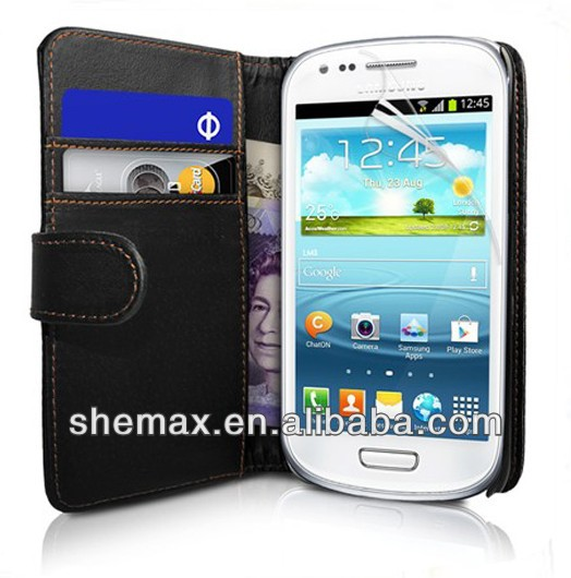 Plastic Material Newest Rubber Hard Case Cover For Galaxy S3 Mini