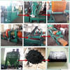 High Efficiency Waste tire recycling rubber powder line strip cutting machine
