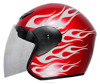 scooter helmets china CE/DOT 3/4 open face helmet wholesale