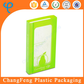designed plastic packaging box sleeve