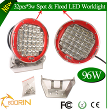 wholesale round shape 96w led driving lights ,9inch for Car,Trucks, 4x4,4WD Off road car accessories 96w led work light